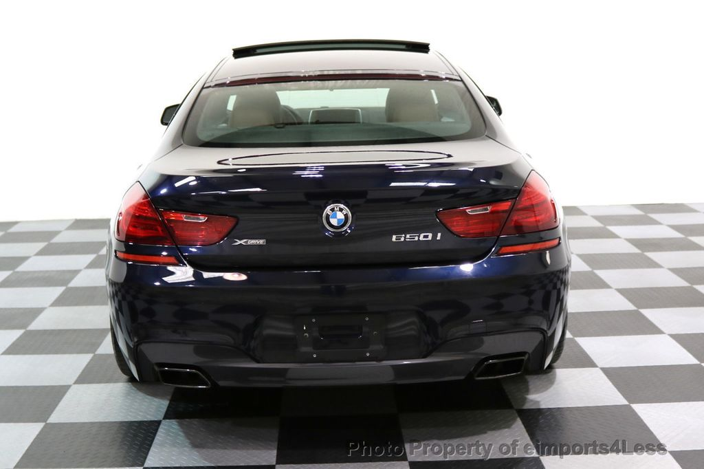 2015 BMW 6 Series CERTIFIED 650i xDRIVE M Sport AWD Gran Coupe  - 17425273 - 17