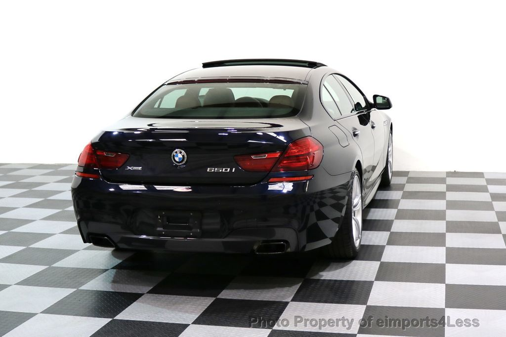 2015 BMW 6 Series CERTIFIED 650i xDRIVE M Sport AWD Gran Coupe  - 17425273 - 18