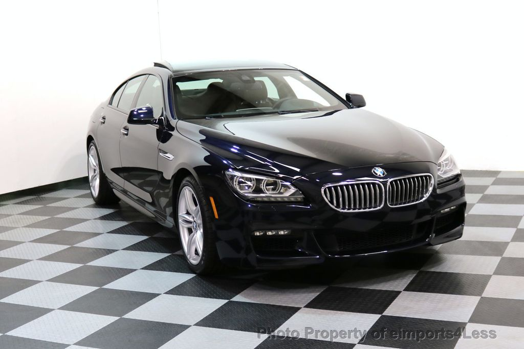 2015 BMW 6 Series CERTIFIED 650i xDRIVE M Sport AWD Gran Coupe  - 17425273 - 1