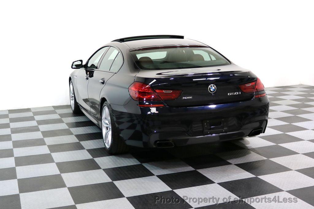 2015 BMW 6 Series CERTIFIED 650i xDRIVE M Sport AWD Gran Coupe  - 17425273 - 2