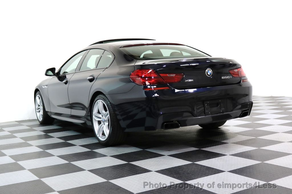 2015 BMW 6 Series CERTIFIED 650i xDRIVE M Sport AWD Gran Coupe  - 17425273 - 32