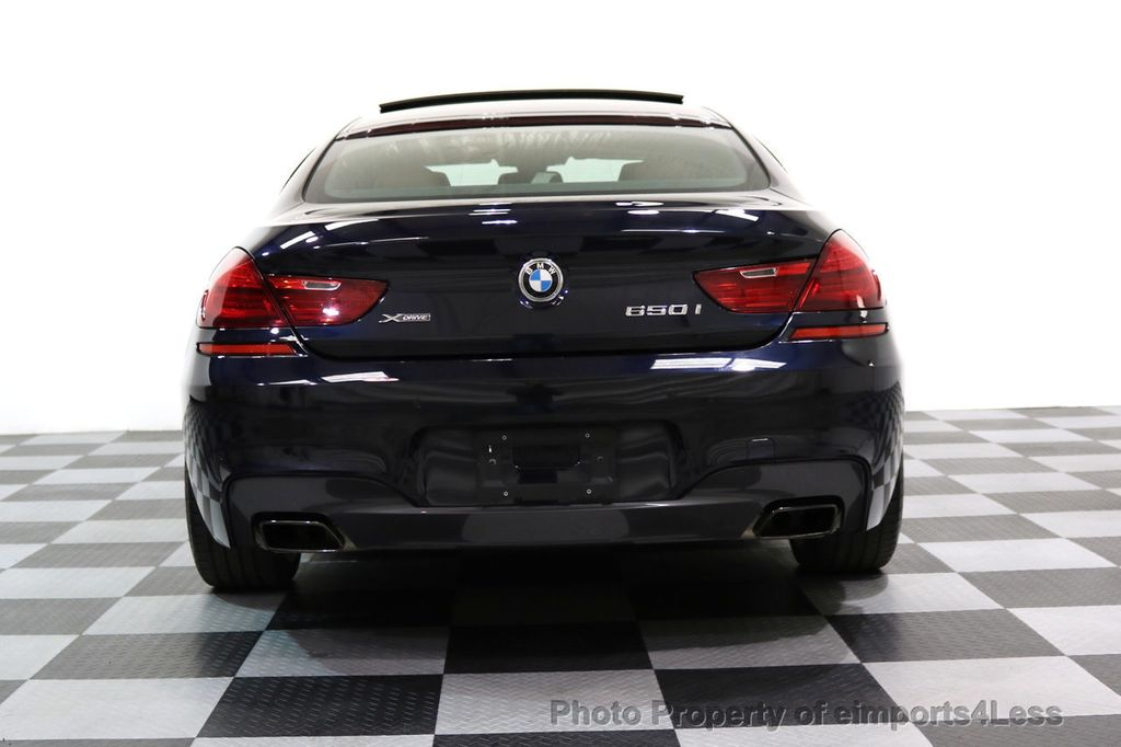 2015 BMW 6 Series CERTIFIED 650i xDRIVE M Sport AWD Gran Coupe  - 17425273 - 33