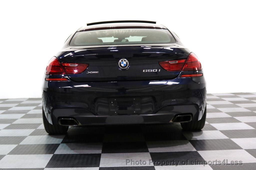 2015 BMW 6 Series CERTIFIED 650i xDRIVE M Sport AWD Gran Coupe  - 17425273 - 33