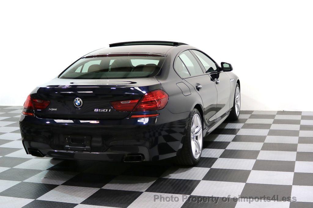 2015 BMW 6 Series CERTIFIED 650i xDRIVE M Sport AWD Gran Coupe  - 17425273 - 3