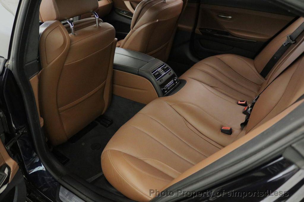 2015 BMW 6 Series CERTIFIED 650i xDRIVE M Sport AWD Gran Coupe  - 17425273 - 39