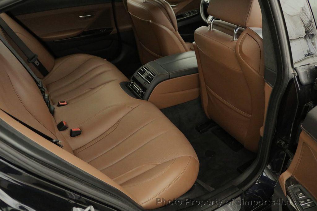 2015 BMW 6 Series CERTIFIED 650i xDRIVE M Sport AWD Gran Coupe  - 17425273 - 40