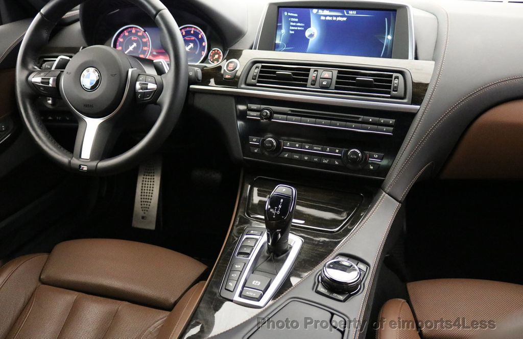 2015 BMW 6 Series CERTIFIED 650i xDRIVE M Sport AWD Gran Coupe  - 17425273 - 42