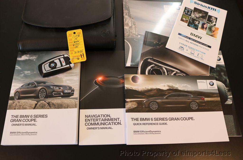 2015 BMW 6 Series CERTIFIED 650i xDRIVE M Sport AWD Gran Coupe  - 17425273 - 43