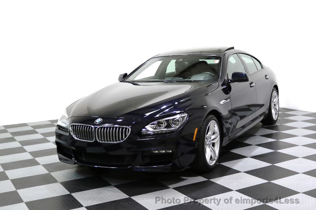 2015 BMW 6 Series CERTIFIED 650i xDRIVE M Sport AWD Gran Coupe  - 17425273 - 48