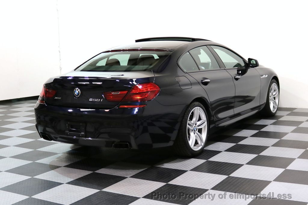 2015 BMW 6 Series CERTIFIED 650i xDRIVE M Sport AWD Gran Coupe  - 17425273 - 51