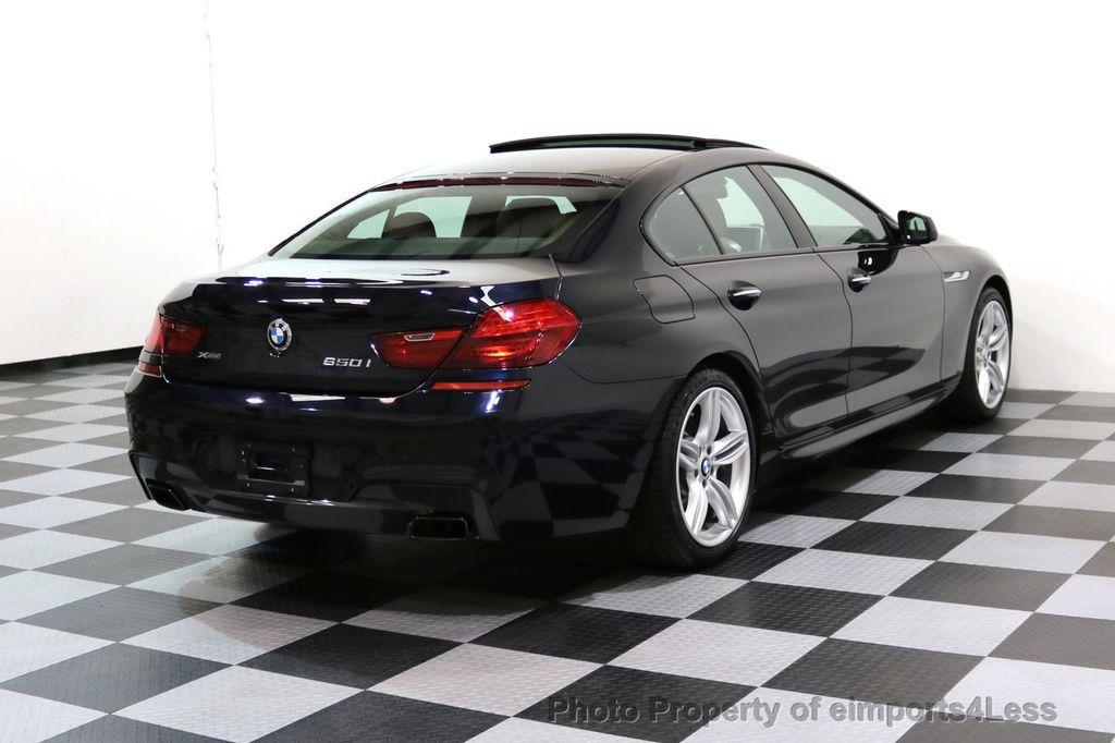 2015 BMW 6 Series CERTIFIED 650i xDRIVE M Sport AWD Gran Coupe  - 17425273 - 51