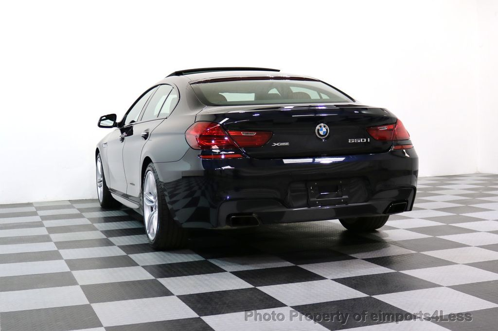 2015 BMW 6 Series CERTIFIED 650i xDRIVE M Sport AWD Gran Coupe  - 17425273 - 53