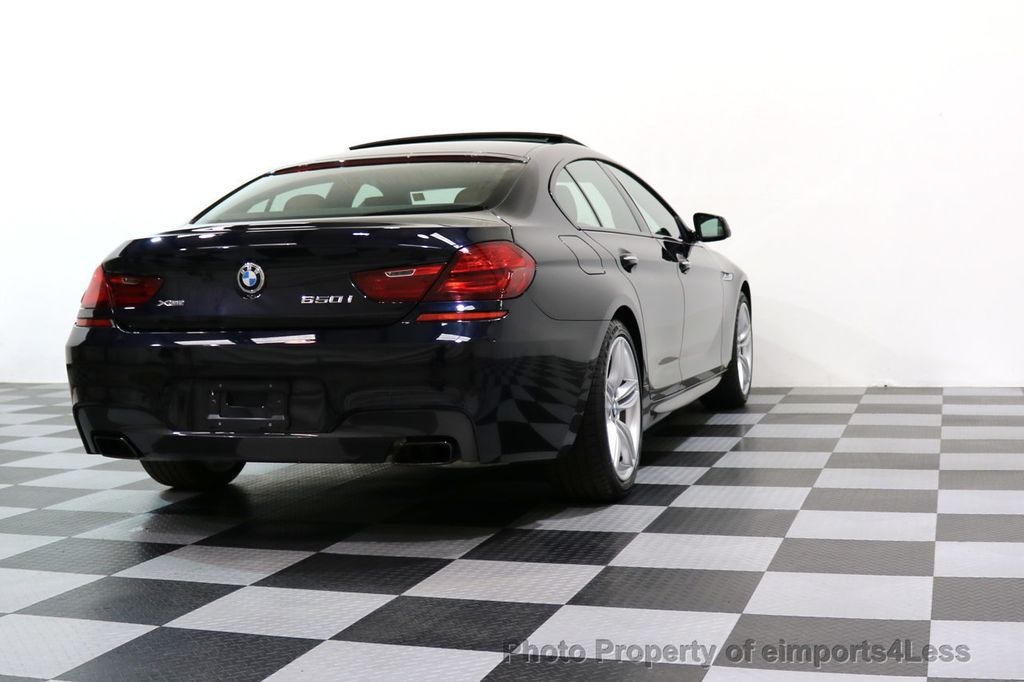 2015 BMW 6 Series CERTIFIED 650i xDRIVE M Sport AWD Gran Coupe  - 17425273 - 54