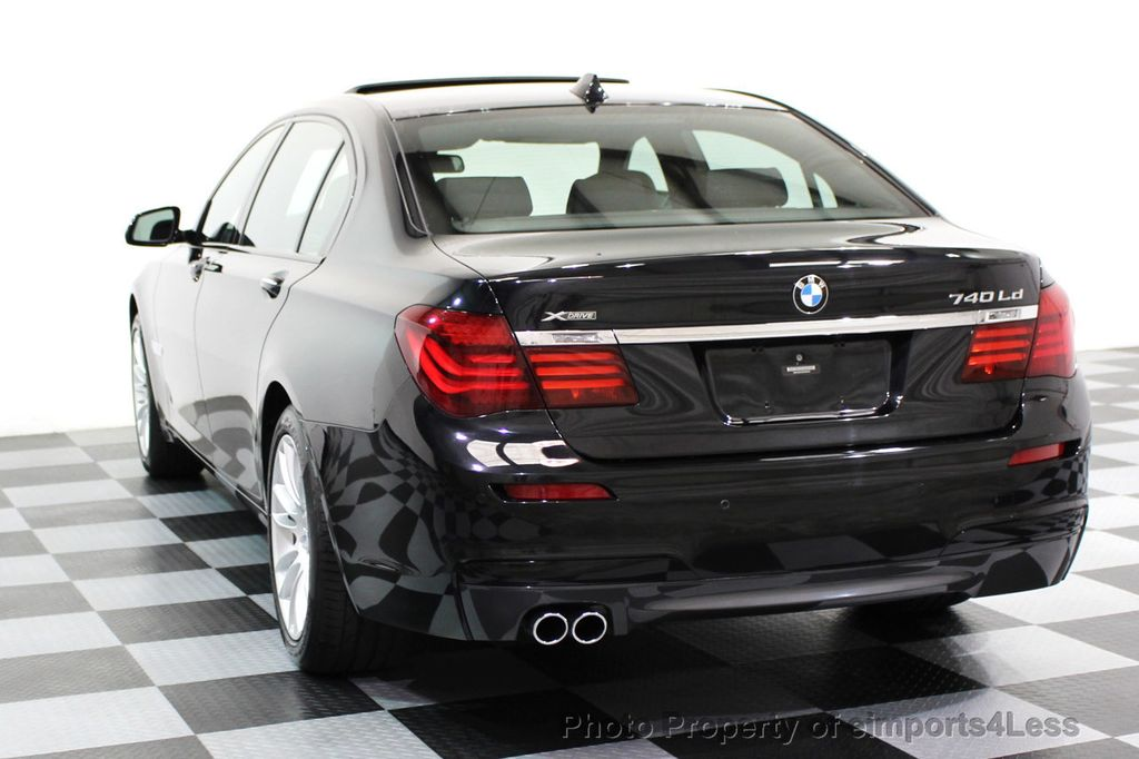 2015 used bmw 7 series certified 740ld xdrive turbo diesel awd m sport package at eimports4less. Black Bedroom Furniture Sets. Home Design Ideas