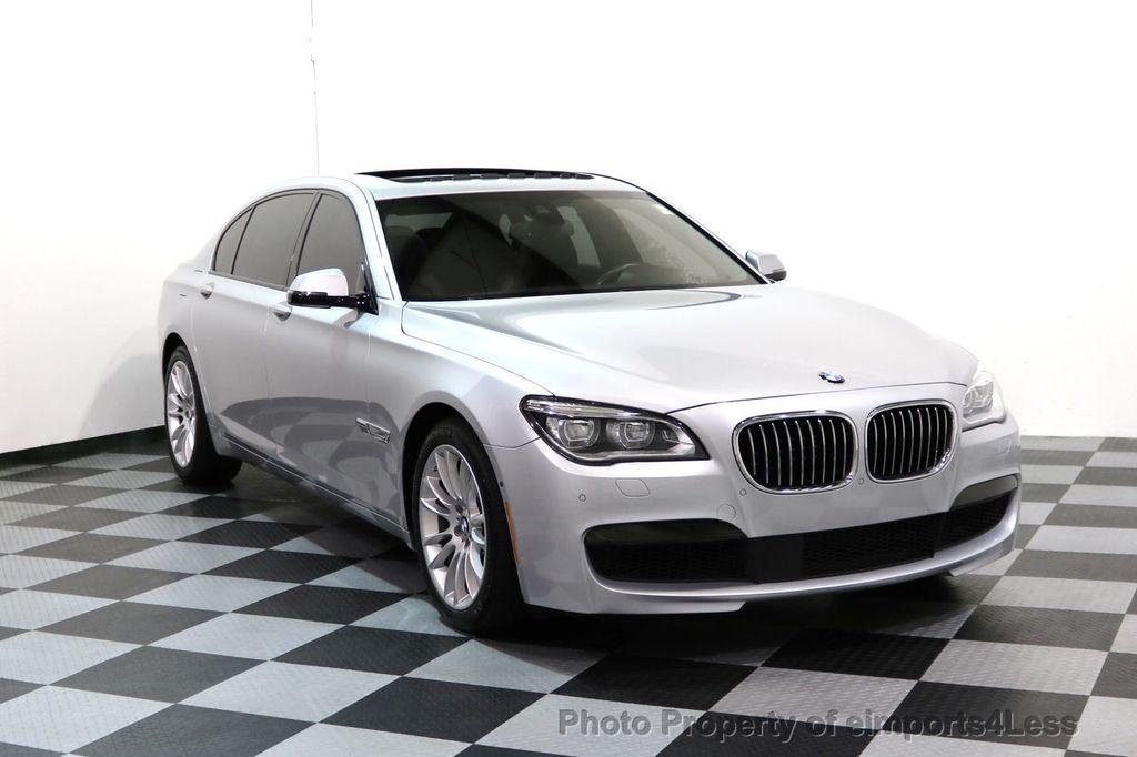 2015 Used BMW 7 Series CERTIFIED 750Li xDRIVE M SPORT AWD Distronic ...