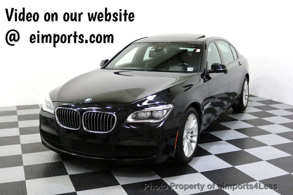 2015 BMW 7 Series CERTIFIED 750Li xDRIVE M Sport AWD Driver Assist PLUS  - 17759841 - 0