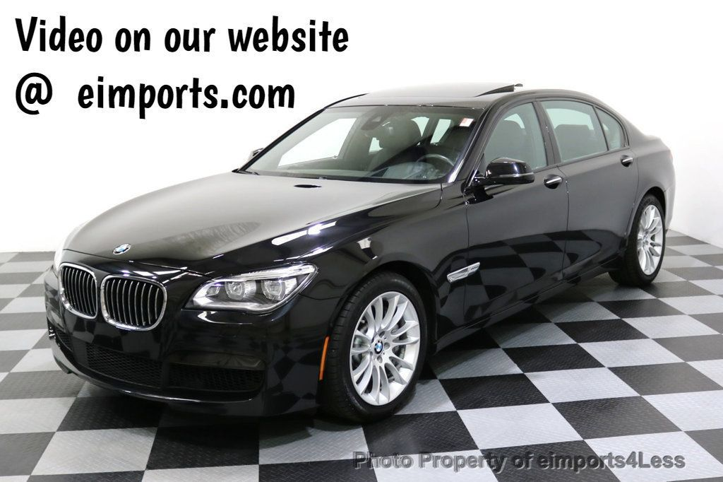 2015 BMW 7 Series CERTIFIED 750Li xDRIVE M Sport Package AWD BLIS CAM NAV - 17775874 - 0