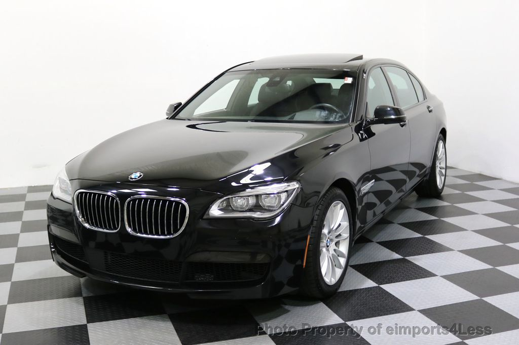 2015 BMW 7 Series CERTIFIED 750Li xDRIVE M Sport Package AWD BLIS CAM NAV - 17775874 - 14