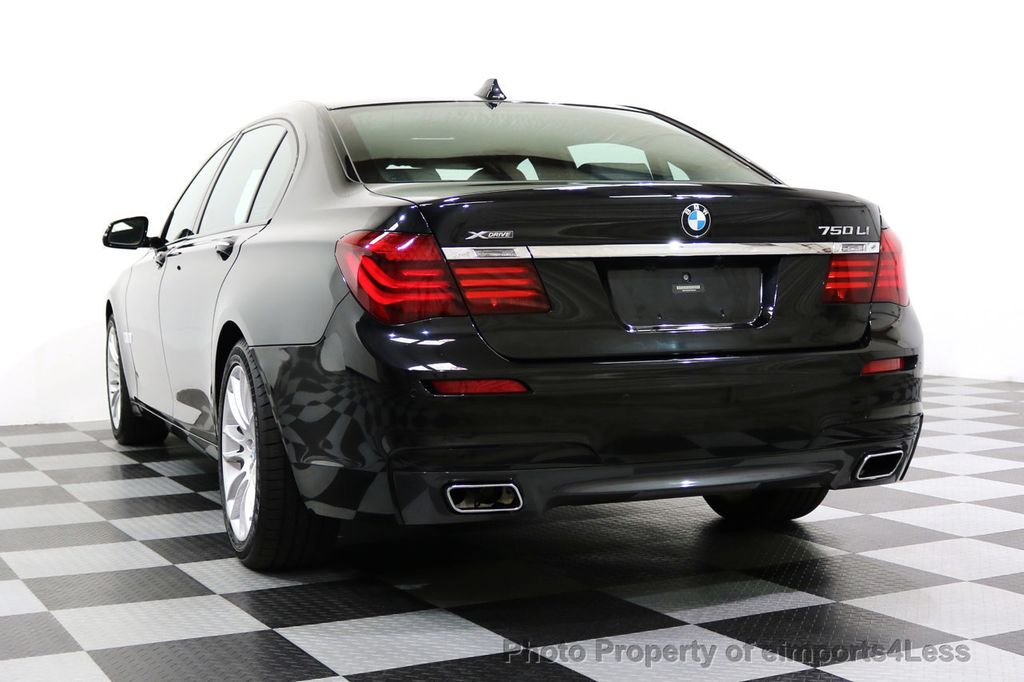 2015 BMW 7 Series CERTIFIED 750Li xDRIVE M Sport Package AWD BLIS CAM NAV - 17775874 - 16