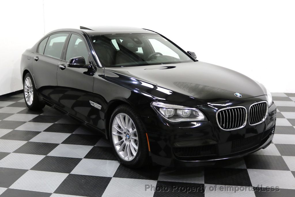 2015 BMW 7 Series CERTIFIED 750Li xDRIVE M Sport Package AWD BLIS CAM NAV - 17775874 - 1