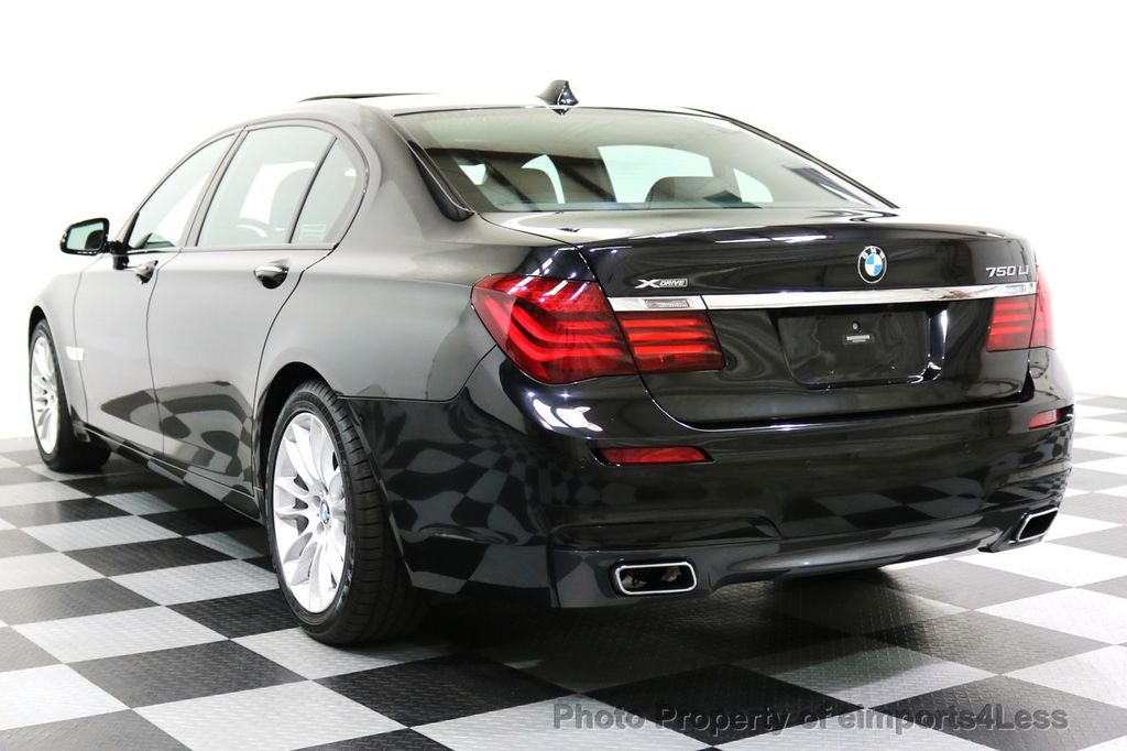 2015 BMW 7 Series CERTIFIED 750Li xDRIVE M Sport Package AWD BLIS CAM NAV - 17775874 - 30