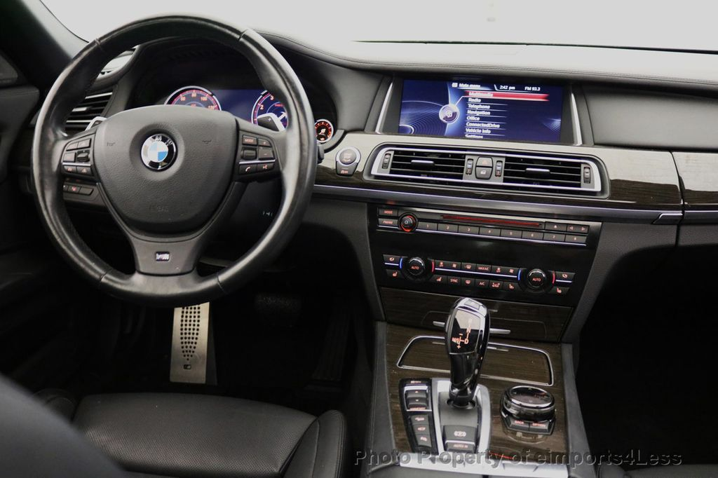 2015 BMW 7 Series CERTIFIED 750Li xDRIVE M Sport Package AWD BLIS CAM NAV - 17775874 - 34