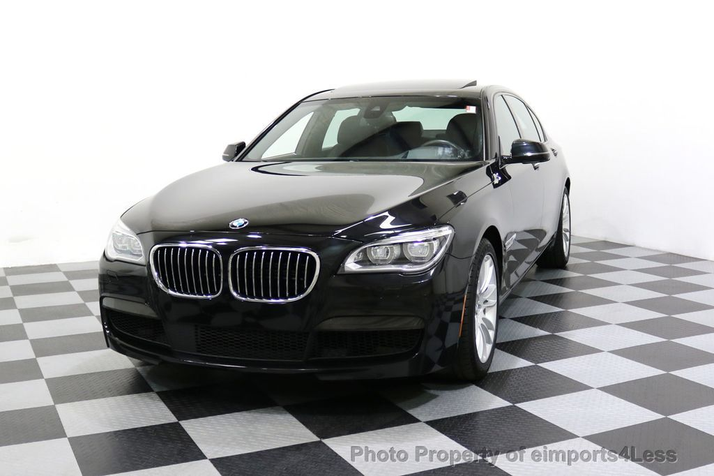2015 BMW 7 Series CERTIFIED 750Li xDRIVE M Sport Package AWD BLIS CAM NAV - 17775874 - 52