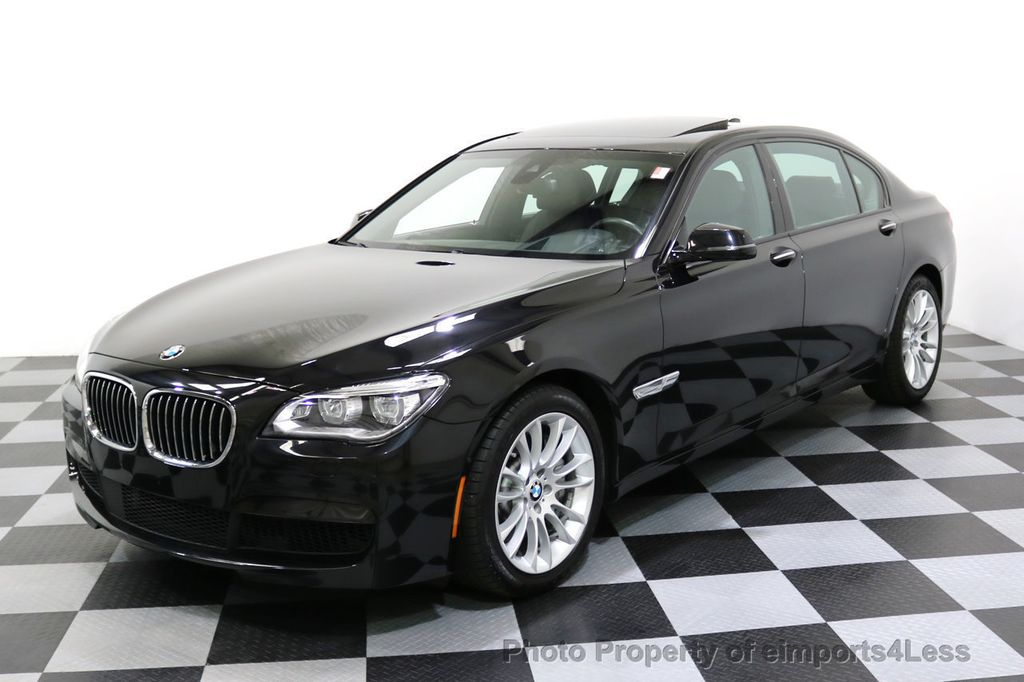 2015 BMW 7 Series CERTIFIED 750Li xDRIVE M Sport Package AWD BLIS CAM NAV - 17775874 - 53