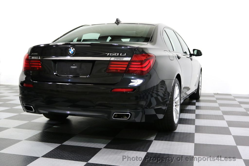 2015 BMW 7 Series CERTIFIED 750Li xDRIVE M Sport Package AWD BLIS CAM NAV - 17775874 - 55