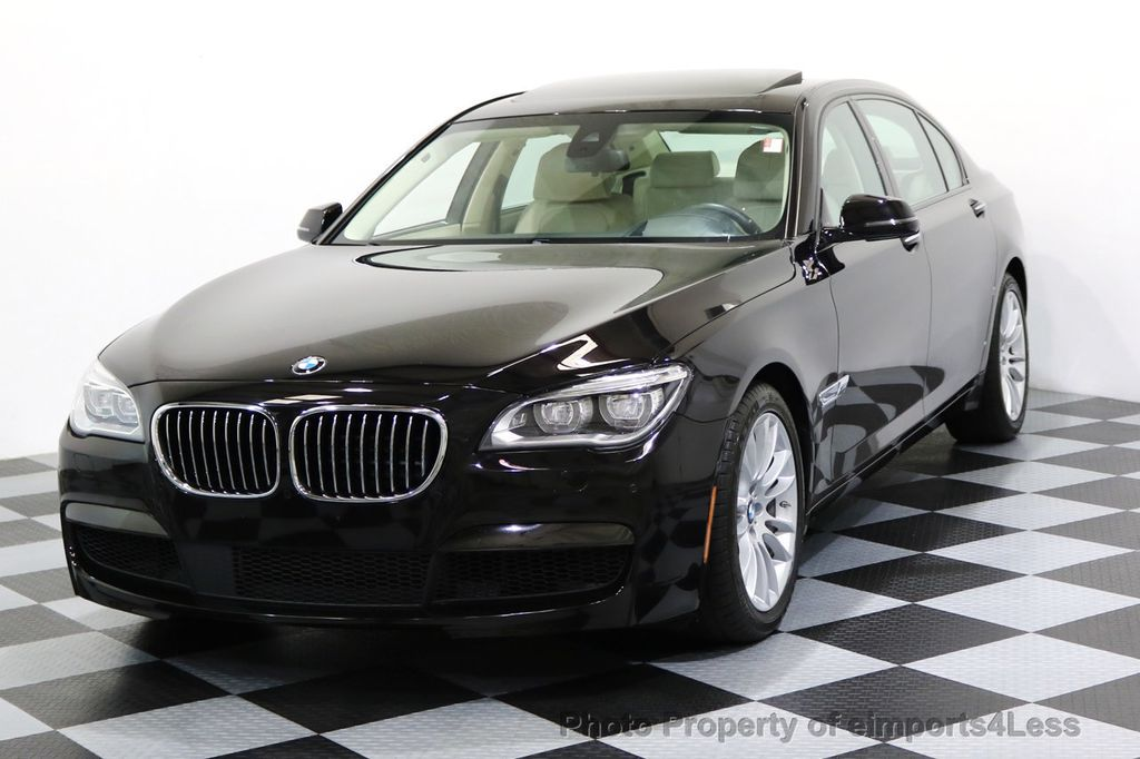 2015 BMW 7 Series CERTIFIED 750Li xDRIVE M SPORT RUBY BLACK EDITION - 16949156 - 0