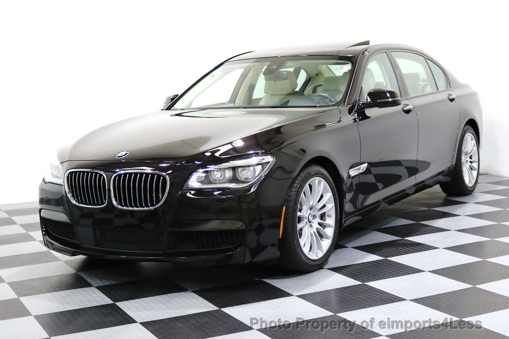2015 BMW 7 Series CERTIFIED 750Li xDRIVE M SPORT RUBY BLACK EDITION - 16949156 - 12