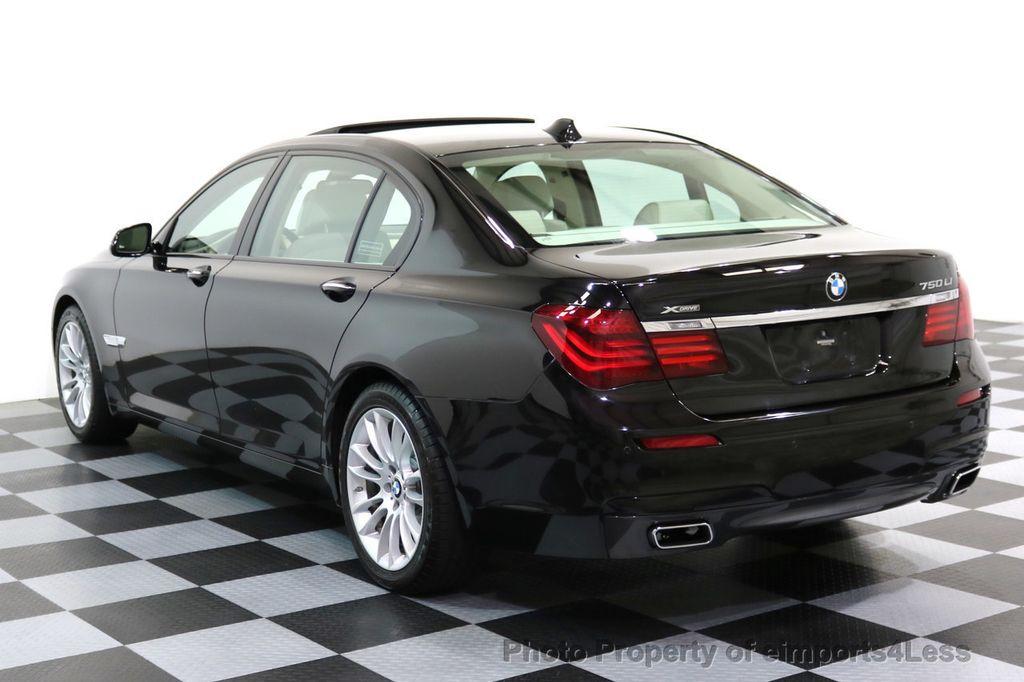 2015 BMW 7 Series CERTIFIED 750Li xDRIVE M SPORT RUBY BLACK EDITION - 16949156 - 14