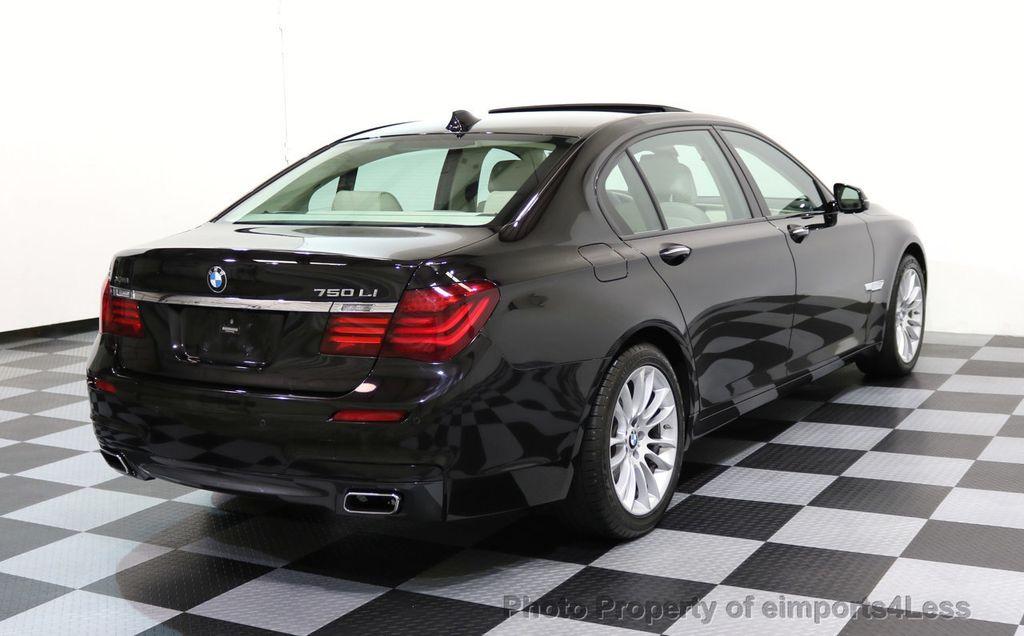 2015 BMW 7 Series CERTIFIED 750Li xDRIVE M SPORT RUBY BLACK EDITION - 16949156 - 16