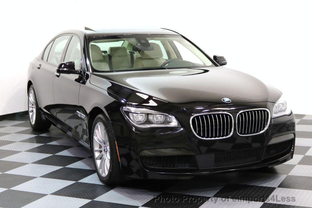 2015 BMW 7 Series CERTIFIED 750Li xDRIVE M SPORT RUBY BLACK EDITION - 16949156 - 1
