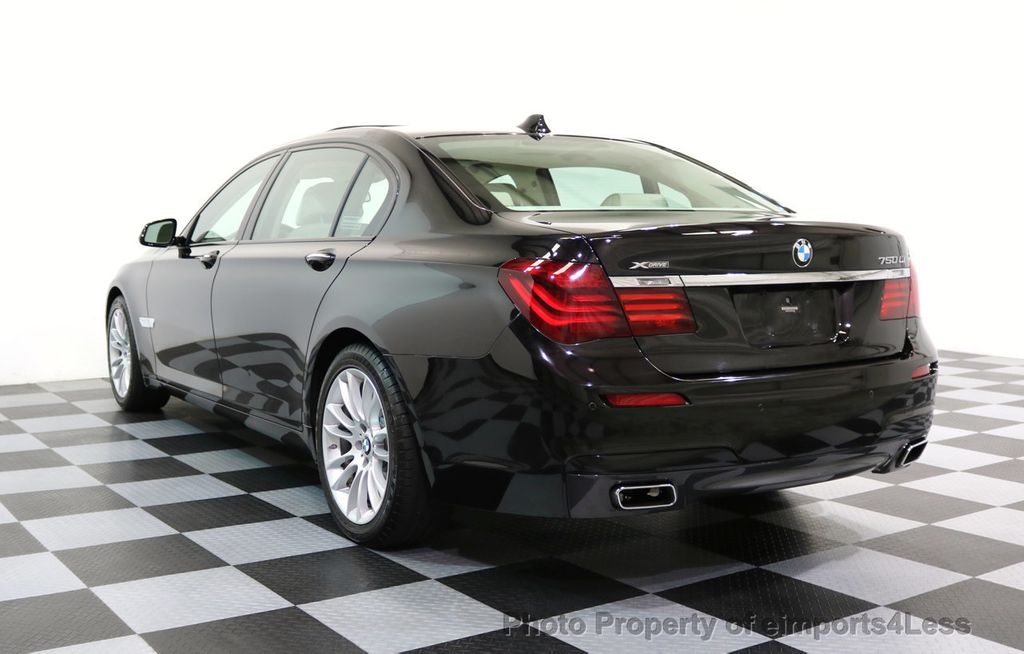 2015 BMW 7 Series CERTIFIED 750Li xDRIVE M SPORT RUBY BLACK EDITION - 16949156 - 27