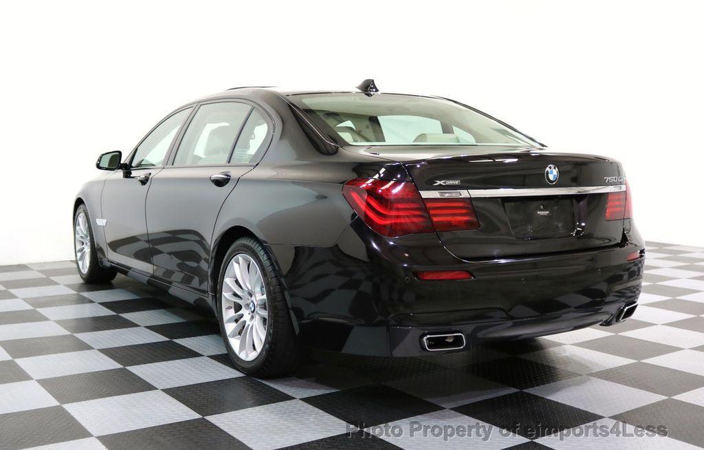 2015 BMW 7 Series CERTIFIED 750Li xDRIVE M SPORT RUBY BLACK EDITION - 16949156 - 27