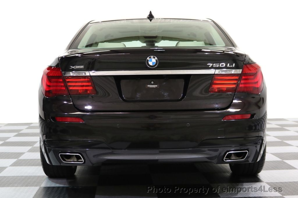 2015 BMW 7 Series CERTIFIED 750Li xDRIVE M SPORT RUBY BLACK EDITION - 16949156 - 28