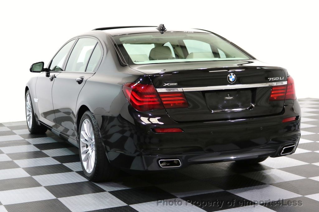 2015 BMW 7 Series CERTIFIED 750Li xDRIVE M SPORT RUBY BLACK EDITION - 16949156 - 2