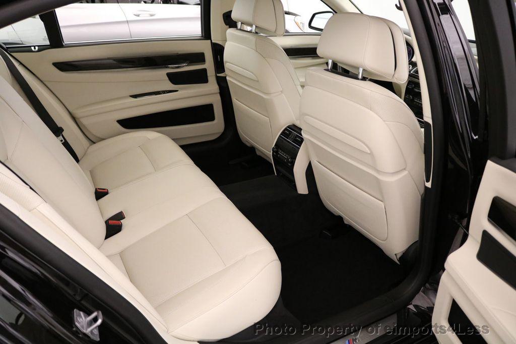 2015 BMW 7 Series CERTIFIED 750Li xDRIVE M SPORT RUBY BLACK EDITION - 16949156 - 34