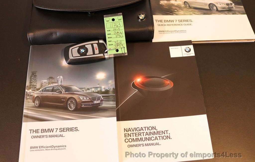 2015 BMW 7 Series CERTIFIED 750Li xDRIVE M SPORT RUBY BLACK EDITION - 16949156 - 35