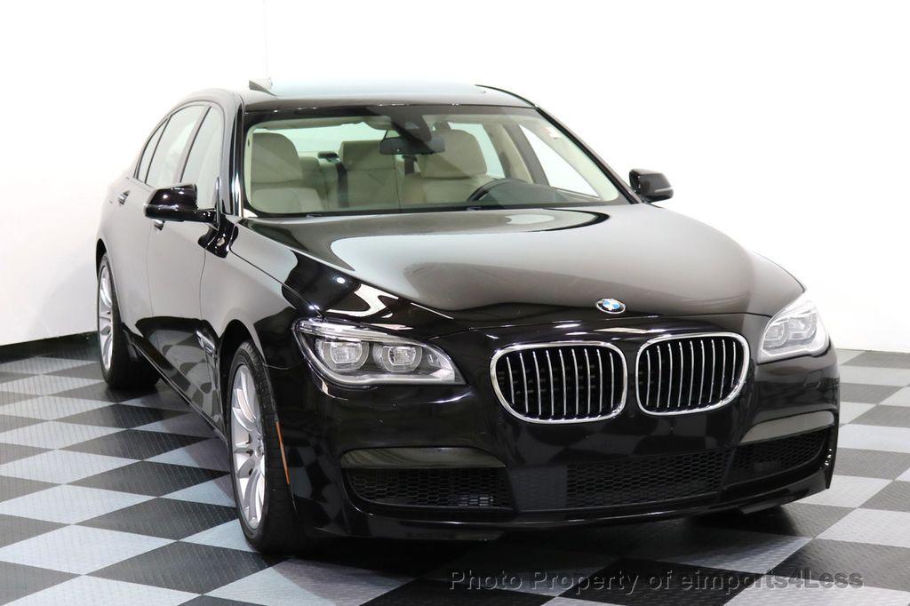2015 BMW 7 Series CERTIFIED 750Li xDRIVE M SPORT RUBY BLACK EDITION - 16949156 - 39