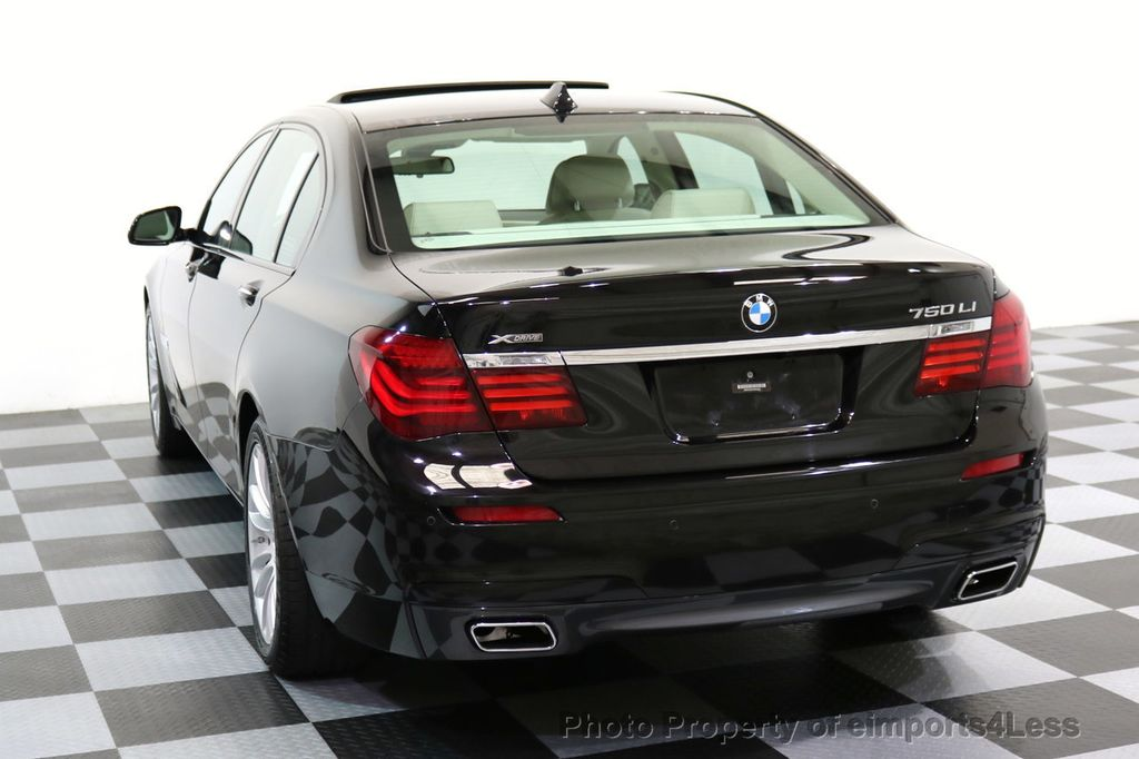 2015 BMW 7 Series CERTIFIED 750Li xDRIVE M SPORT RUBY BLACK EDITION - 16949156 - 40