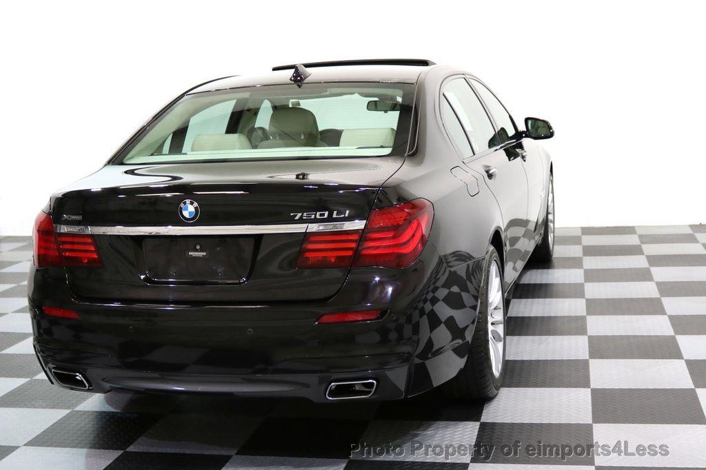 2015 BMW 7 Series CERTIFIED 750Li xDRIVE M SPORT RUBY BLACK EDITION - 16949156 - 41
