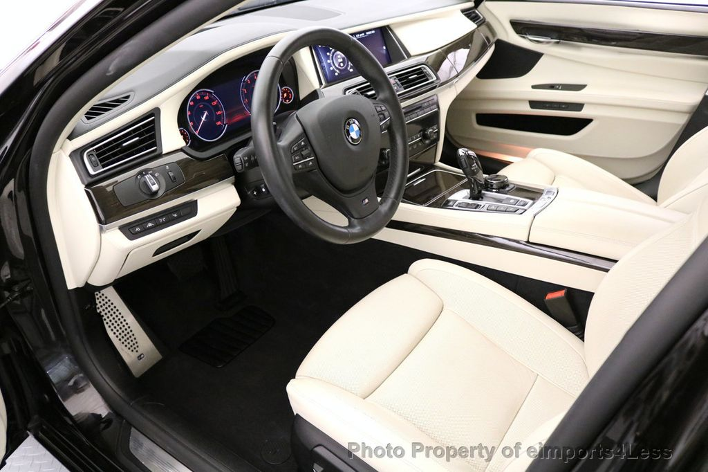 2015 BMW 7 Series CERTIFIED 750Li xDRIVE M SPORT RUBY BLACK EDITION - 16949156 - 46