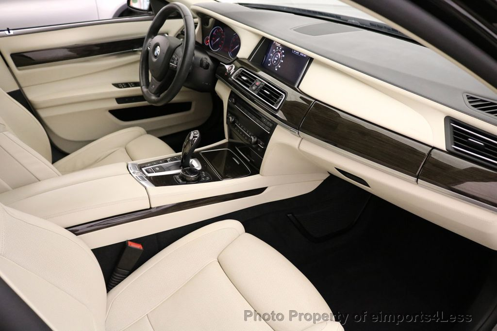 2015 BMW 7 Series CERTIFIED 750Li xDRIVE M SPORT RUBY BLACK EDITION - 16949156 - 49
