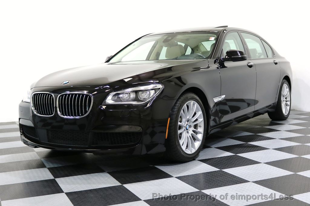 2015 BMW 7 Series CERTIFIED 750Li xDRIVE M SPORT RUBY BLACK EDITION - 16949156 - 52