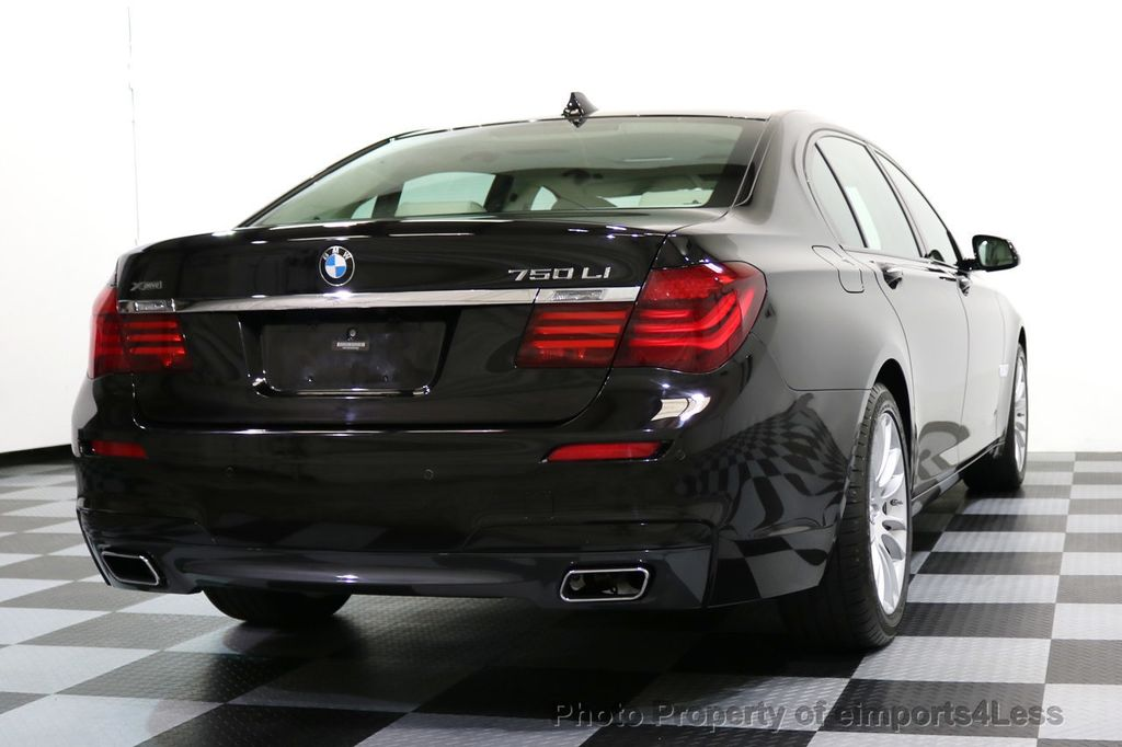 2015 BMW 7 Series CERTIFIED 750Li xDRIVE M SPORT RUBY BLACK EDITION - 16949156 - 53