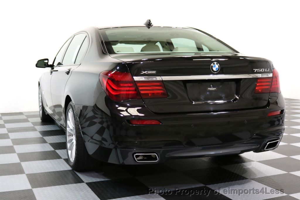 2015 BMW 7 Series CERTIFIED 750Li xDRIVE M SPORT RUBY BLACK EDITION - 16949156 - 54