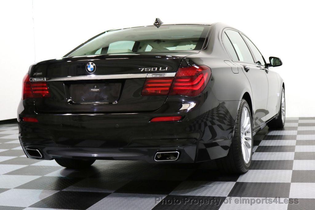 2015 BMW 7 Series CERTIFIED 750Li xDRIVE M SPORT RUBY BLACK EDITION - 16949156 - 55