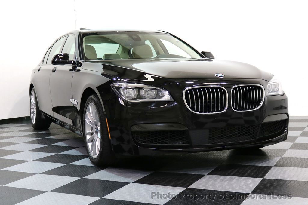 2015 BMW 7 Series CERTIFIED 750Li XDRIVE M SPORT RUBY BLACK EDITION